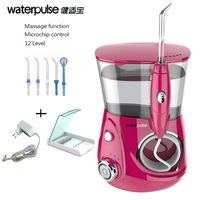 Waterpulse V660r Dental Water Flosser Pro Dental Floss Irrigation With Clean Massage Function Tooth Floss Oral