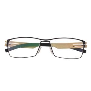 Image 3 - WEARKAPER Montura de gafas para miopía, diseño único Sin tornillo, Ultra ligera, ultrafina