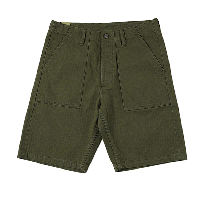 BOB DONG Vietnam War OG-107 Pants Vintage Herringbone Military Shorts For Men