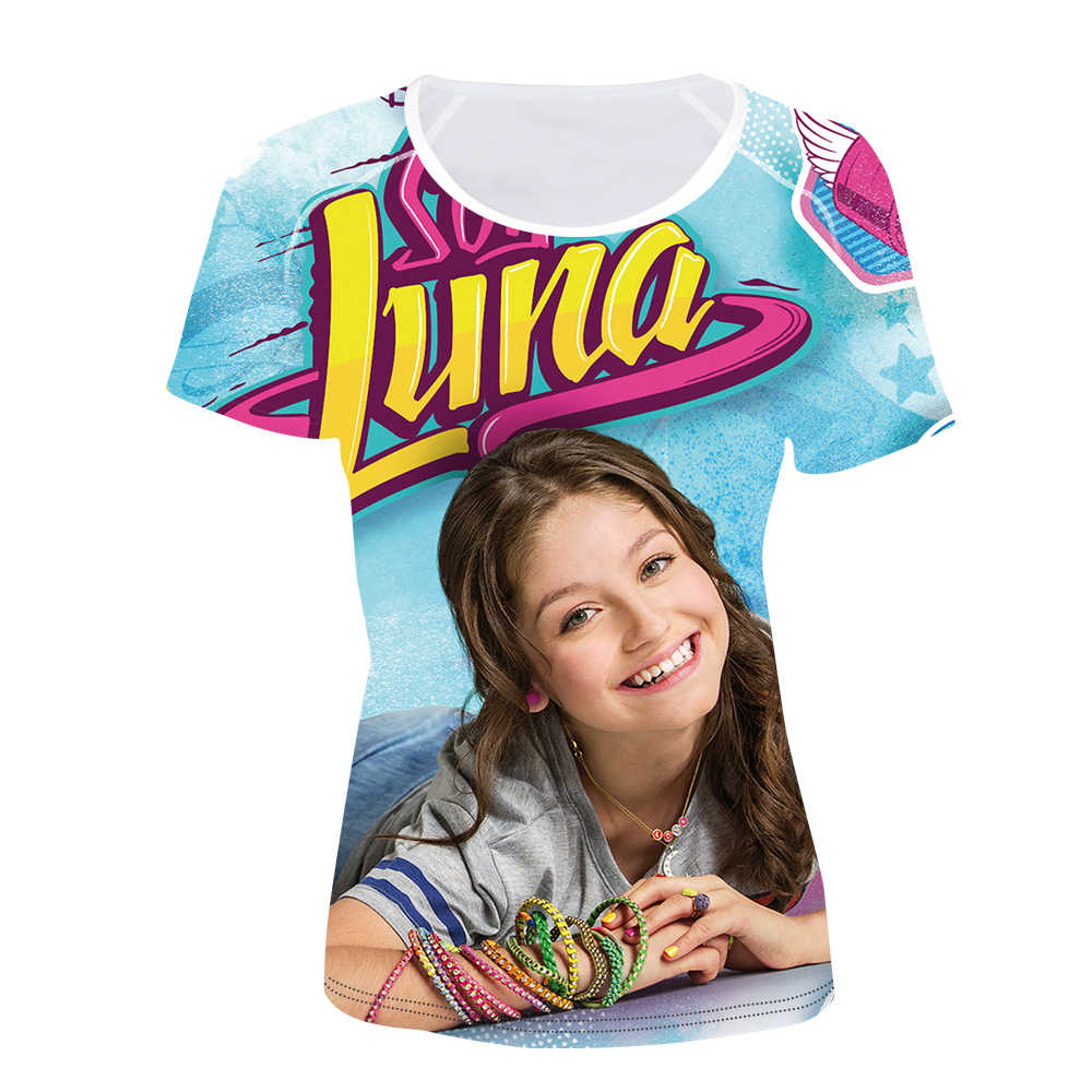 1b3c5247778c8 ... Customized Soy Luna Print Women T-Shirt Ladies Fashion Short Sleeve  Summer Tee Shirt Female ...