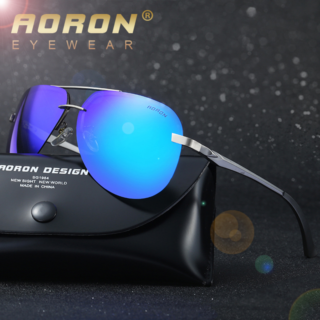 2017 New HD Polarized Sunglasses Men Vintage Alloy Male Sun Glasses Driving Fishing Glasses Oculos With High quality Case 143