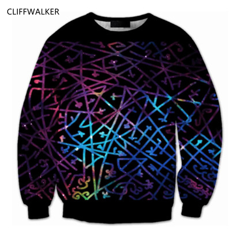 Dropshipping Custom Space Galaxy Hoodies For Women Men Illusory Colorful Line Fitness Sweatshirt Retro 3D Casual Printed Tops