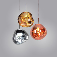 где купить Creative restaurant hanging lights Modern living room bedroom pendant lights cafe bar decoration lava pendant lamps по лучшей цене