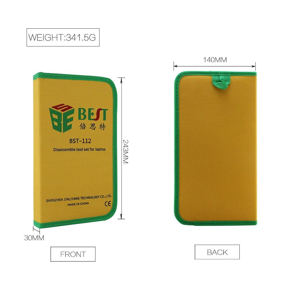 22pcs / set kit di strumenti professionali per telefoni cellulari Kit - Utensili manuali - Fotografia 6