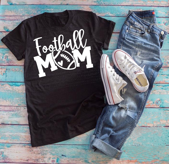 5d6760b5e football mom Tumblr T Shirt Ladies Football Harajuku Tops Casual Aesthetic  Slogan Camisates football Lover Trendy Tops Outfits -in T-Shirts from  Women's ...