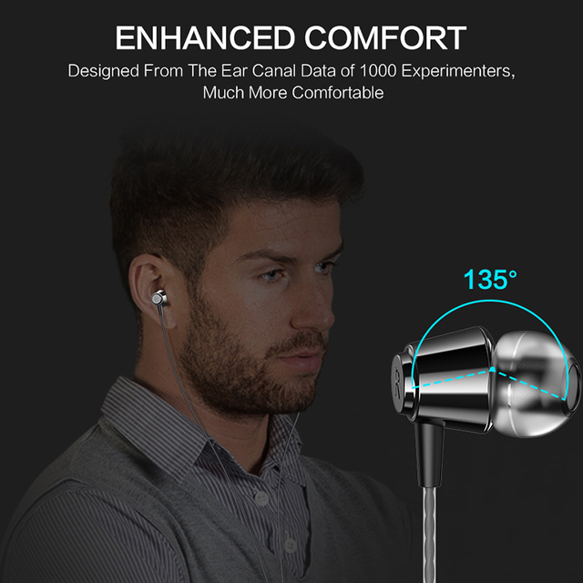 FLOVEME In-Ear Earphone For iPhone HIFI Stereo Wired Earbuds For Xiaomi Earphones For Computer Bass 3.5mm 1.2M With Microphone