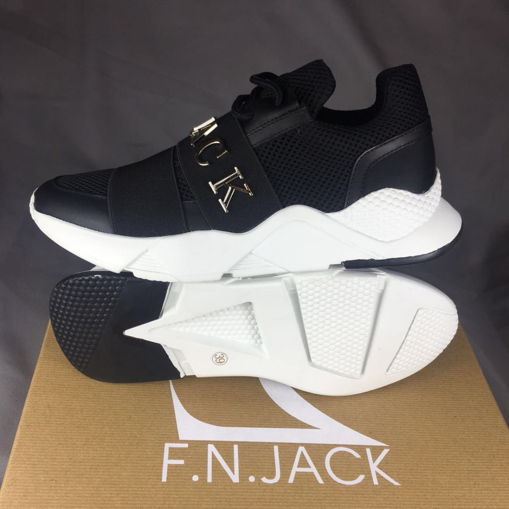 F.N.JACK Fashion Shoes Man Sneakers Sport Runner Fabric Trenerzy - Buty męskie - Zdjęcie 2