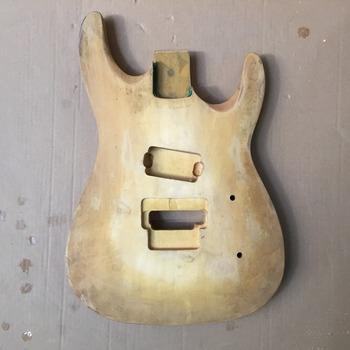 Afanti Music gitara elektryczna DIY korpus gitary elektrycznej (ADK-1030) tanie i dobre opinie Beginner Unisex Do profesjonalnych wykonań Nauka w domu LIPA Drewno z Brazylii None Electric guitar Electric guitar body