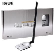 Высококачественные копии AWUS036NH Роскошные Альфа сети Ralink3070L 2.4 ГГц высокое Мощность Беспроводной USB WiFi адаптер 2 * 8dBi Телевизионные антенны с long Range