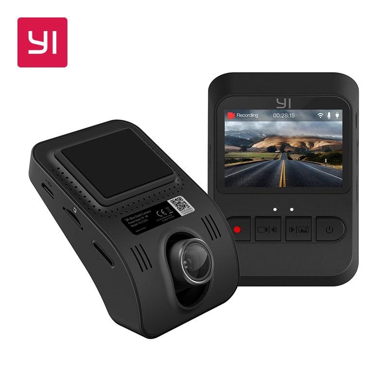 YI Mini Dash Camera 1080p FHD Dashboard Video Recorder Wi-Fi Car Camera with 140 Degree Wide-angle Lens Night Vision G-Sensor rexing v1 car camera car dvr dash cam fhd 1080p 170 wide angle dashboard camera with g sensor wdr night vision free connector