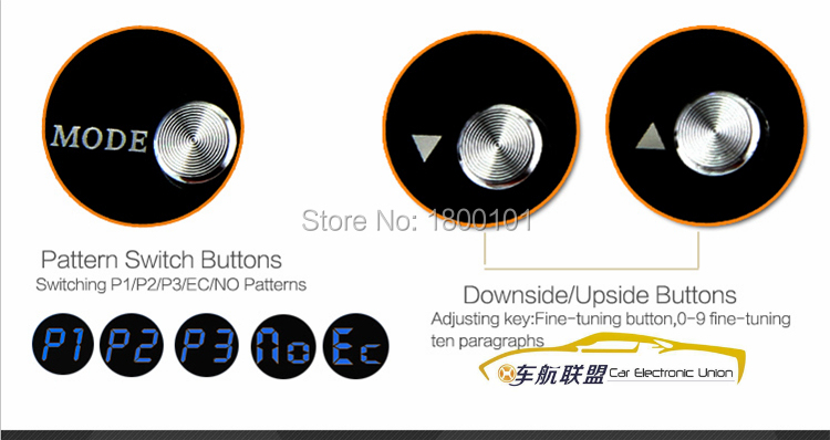 Replacement Parts P1 P2 P3 P4 America Style Round Push Button With High Quality Microswitch