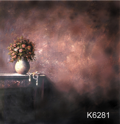 10x10ft Hand painted fantasy Muslin backdrop background, flower vase photography backdrops wedding,custom service K6281 photography backdrops 6 5 5ft 200 150cm fondos estudio fotografico vase curtain windows fundos fotograficos