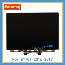 """العلامة التجارية الجديدة الأصلي A1707 شاشة LCD للكمبيوتر المحمول ماك بوك برو الشبكية 15 """"LCD LED A1707 لوحة العرض 2016 2017 فقط إرسال DHL"""