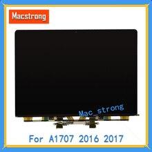 """Nova marca original a1707 tela lcd para macbook pro retina portátil 15 """"lcd led a1707 painel de exibição 2016 2017 só enviar dhl"""