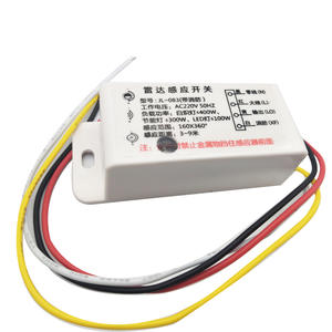 Module Switch Sensor Microwave Infrared Auto 1 IR for Time-Distance-Brightness 1PCS 220V