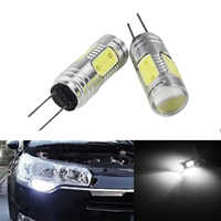 ANGRONG 2X For Citron Peugeot HP24W G4 7.5W COB LED Daytime Running Light DRL Bulbs Canbus