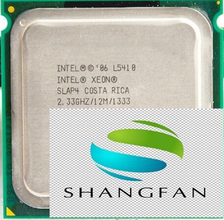 Free shipping for For Intel Xeon L5410 SLAP4 service CPU/2.33GHz /LGA771/L2 Cache 12MB/Quad-Core