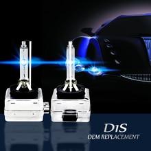CARCTR Автомобильный светодиодный ксеноновый светодиодный фонарь 35 Вт супер яркий длинный температурный сопротивление 4300-15000 к Автомобильные фары лампы D1S/D1C