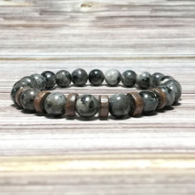 Lava-Bracelet Jewelry-Accessories Charm Wrist-Band Natural-Stone-Beads Homme Handmade