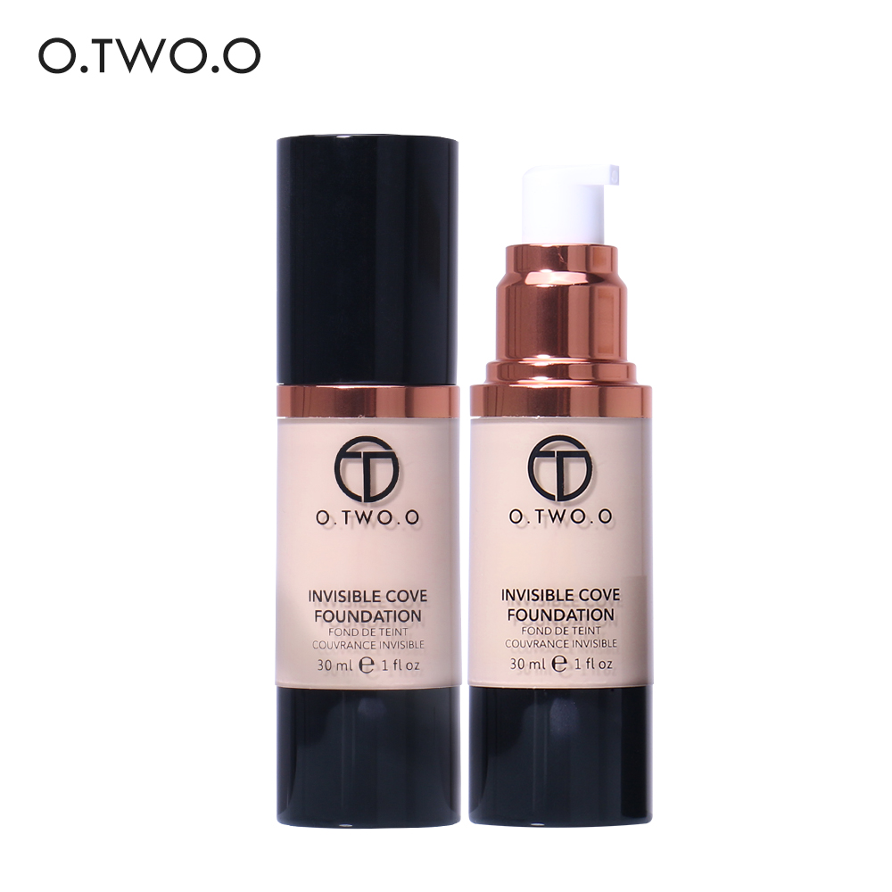 O.TWO.O Makeup Face Makeup Waterproof Flawless Liquid Foundation As Base Cosmetic High Quality Foundations Hot Sale