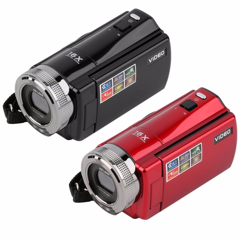 Portable Video Camera 720P HD 16MP 16x Zoom 2 7 TFT LCD Digital Video Camcorder Camera