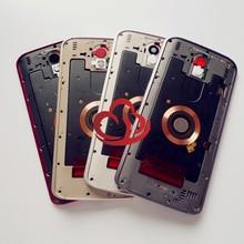 Marka yeni orta kapak çerçeve konut değiştirme Motorola Droid Turbo 2 için XT1585 XT1580 XT1581 MOTO X kuvvet