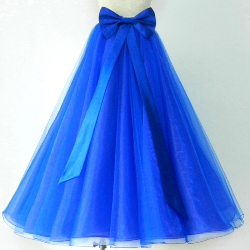 Ballroom Dance Skirts Women Lady Waltz Tutu Long Skirt Flamenco Dancing Costumes Practice Wear Modern Dance Clothing