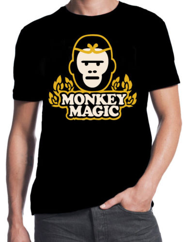 Men's Clothing Cheap Crew Neck Mens Top Tee Monkey Magic Inspired 70s 80s Cult Classic Funny Japanese Tv Show New T-shirt Tops Tshirt Homme Tops & Tees