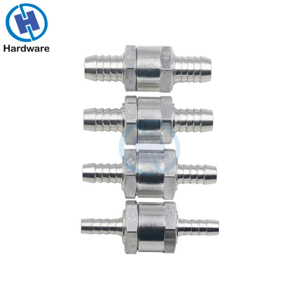 Алюминии Сплав топливным обратным проверочным клапаном в одну сторону бензин дизель 6/8/10/12 мм