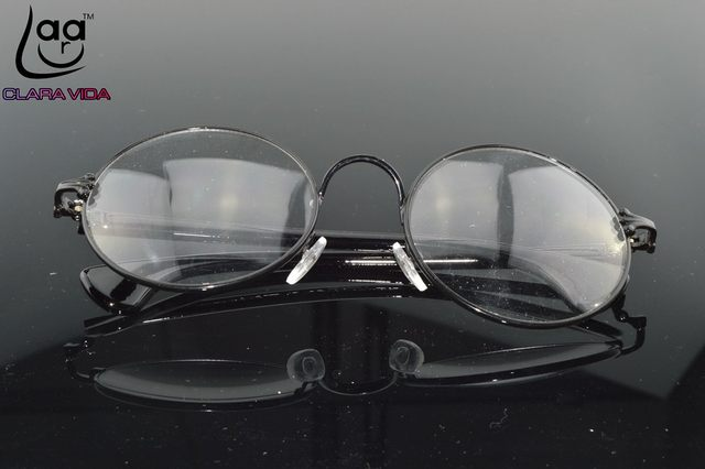 6995add4ce Online Shop Retro Vintage Alloy Large Round Glasses Frames Custom ...