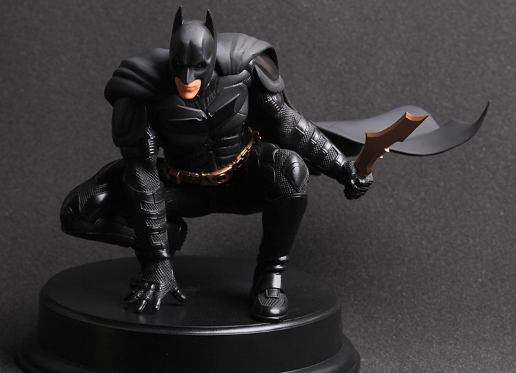 Free Shipping Crazy Toy The Dark Night Rises Batman Assembly PVC Action Figure Collection Model  22cm New In Box  #BM006  free shipping superhero batman the dark knight rises pvc action figure toy 8 20cm
