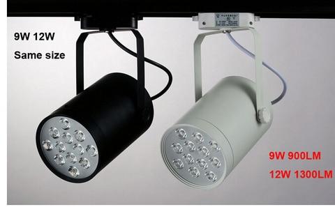 20 pces dhl 12w led faixa luz spotlight suspender montado ou teto conduziu a iluminacao