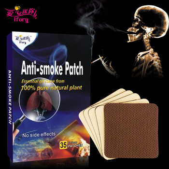 Ifory Health Care 70/105/175/350Pcs Nicotine Patch Natural Ingredient Anti Smoke Patch Chinese Herbal Medical Plaste Drop Ship