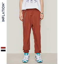 INFLATION Casual Harem Pants 2019 Spring Summer Men's Cuffed Chino Joggers Streetwear