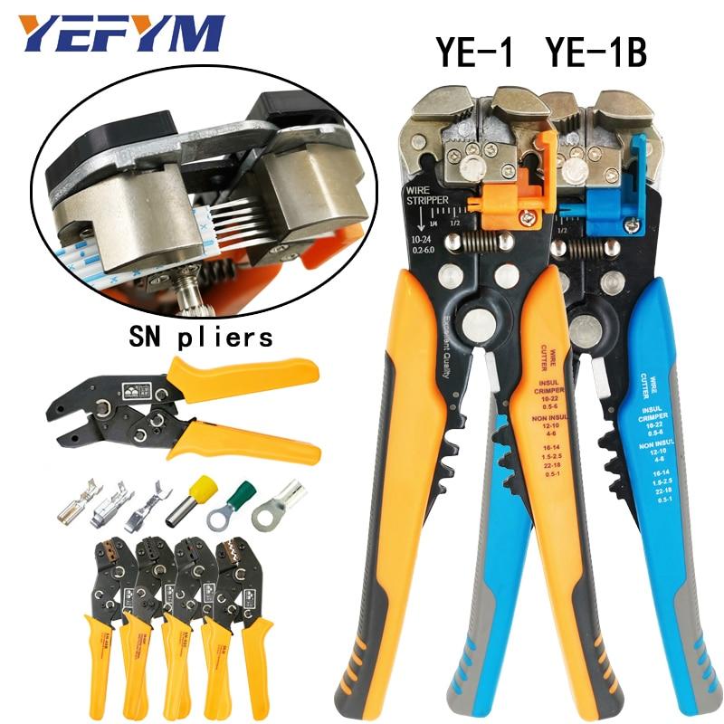 Abisolieren Zangen multi tool automatische einstellbar crimpen werkzeug kabel draht stripper cutter zangen und SN crimpen zangen werkzeuge