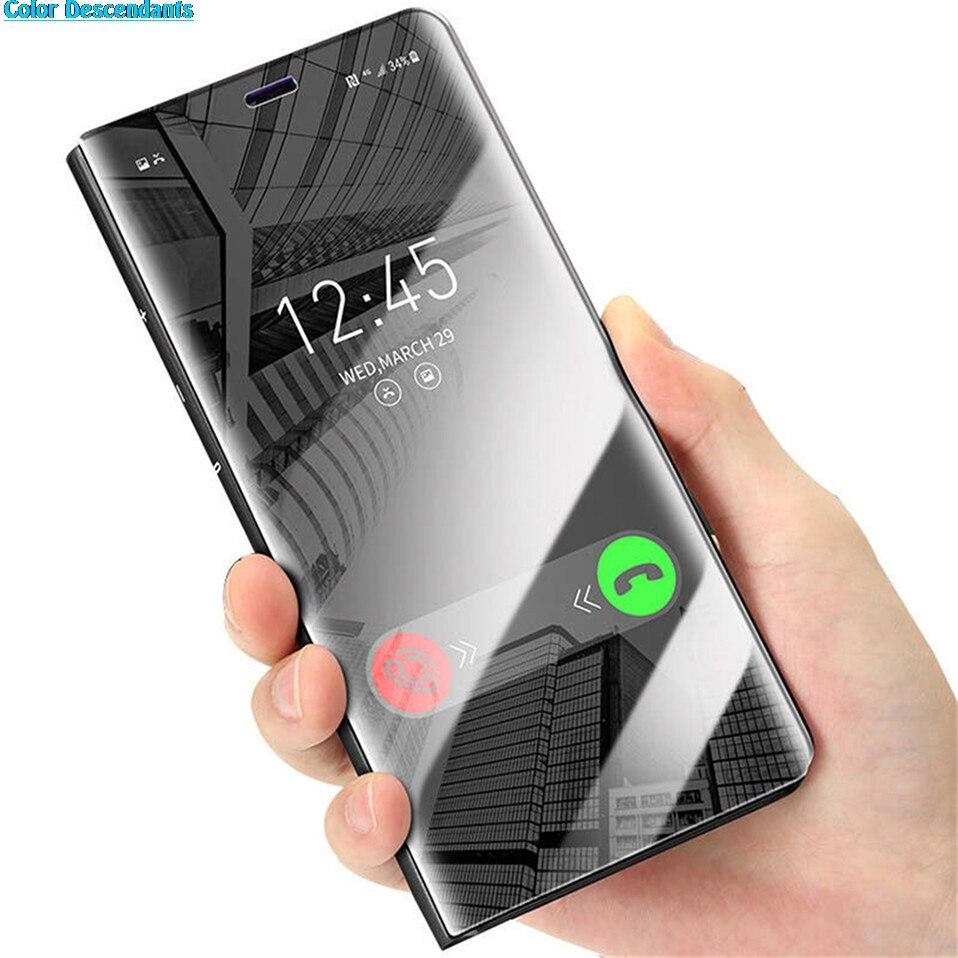 Funda con tapa para Samsung Galaxy S9, S8, S7, Edge Plus, Note 9, 8, A3, A5, A7, J5, J7, 2017, J4, J6, A6, A8, 2018