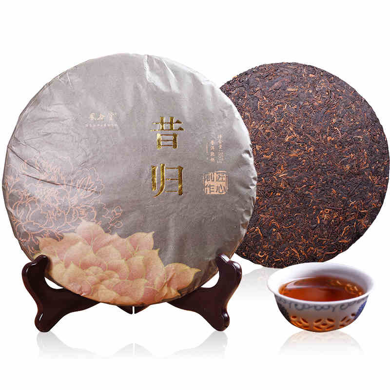 375 g 2016 Year Old Pu Erh Tea Ancient Tree Ripe Puer Cake Chinese Features Gifts Puerh Cha375 g 2016 Year Old Pu Erh Tea Ancient Tree Ripe Puer Cake Chinese Features Gifts Puerh Cha