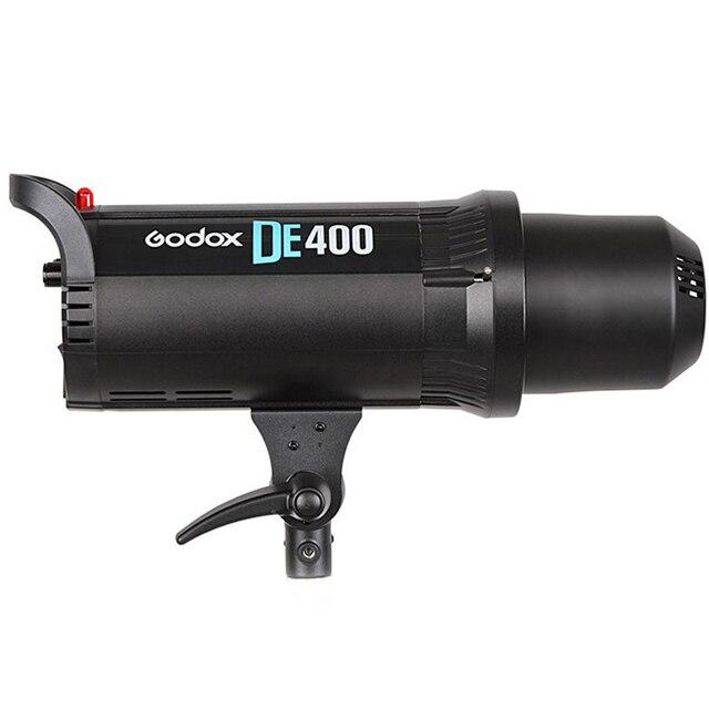 Godox DE400 400W 400WS Pro Photography Studio Strobe Flash Light Lamp Head 220V for wedding/advertising/Fashion shooting T5