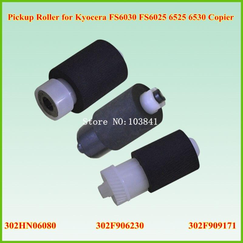 5sets New Pickup Roller Assembly for Kyocera FS6030 FS6025 302HN06080 302F906230 302F909171 Copier 6025 6030 6525 6530 Pick up