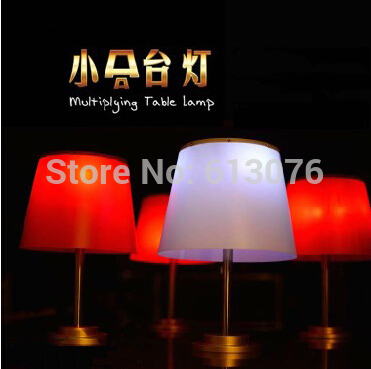 Multiplying Table Lamp(red/white for choice) - Magic trick,lamp magic,magic accessories,stage magic,gimmick