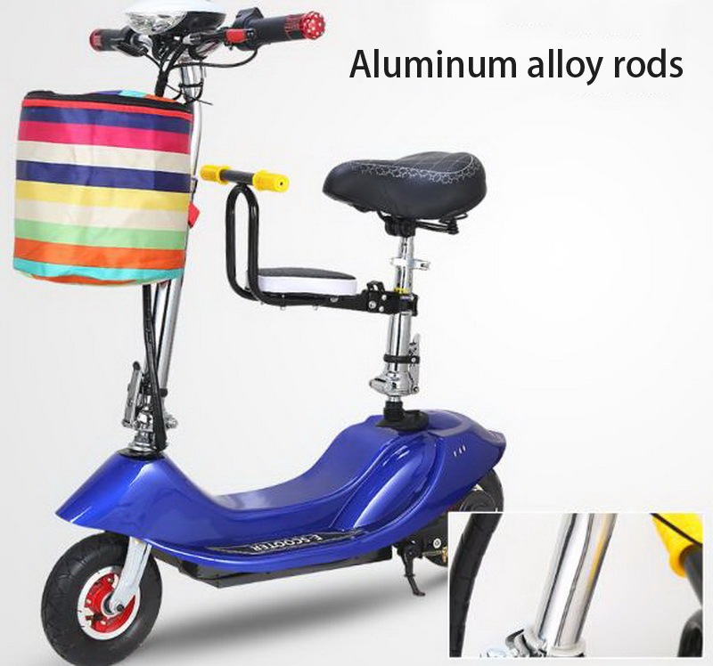 Best 261025/Ladies mini folding car bicycle scooter adult student portable two rounds/Scrub pedal 30-50km/h velo electrique 9