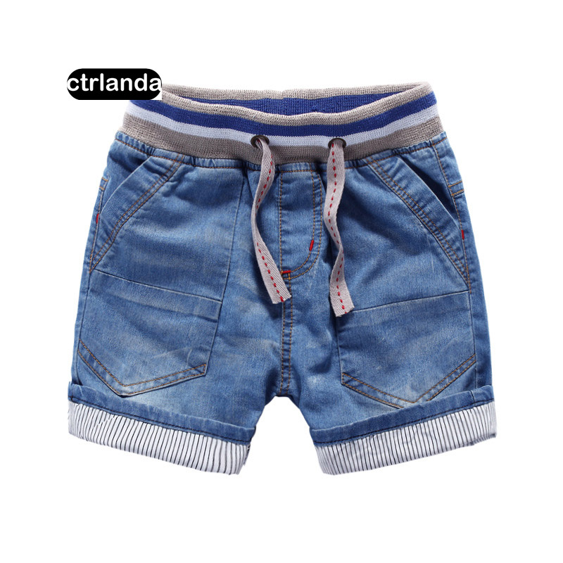 baby boys denim   shorts   soft cotton loose   shorts   kids jeans casual board   shorts   3-10y baby boy clothes surf beach   shorts   for boy