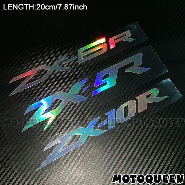 אופנוע רעיוני לייזר קסדת טנק Pad קישוט מדבקת אופנוע מדבקות לקוואסאקי ZX-6R ZX-9R ZX-10R ZX6R ZX9R ZX10R