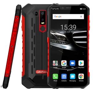 Image 2 - Ulefone Armor 6E Android 9.0 Helio P70 Octa Core Waterproof Mobile Phone 4GB 64GB 6.2 Dual SIM Wireless Charge NFC Smartphone