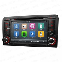7 Capacitive Touch Screen Special Car DVD for Audi A3 2003 2013 & Audi S3 2003 2013 with External DVR Camera Support
