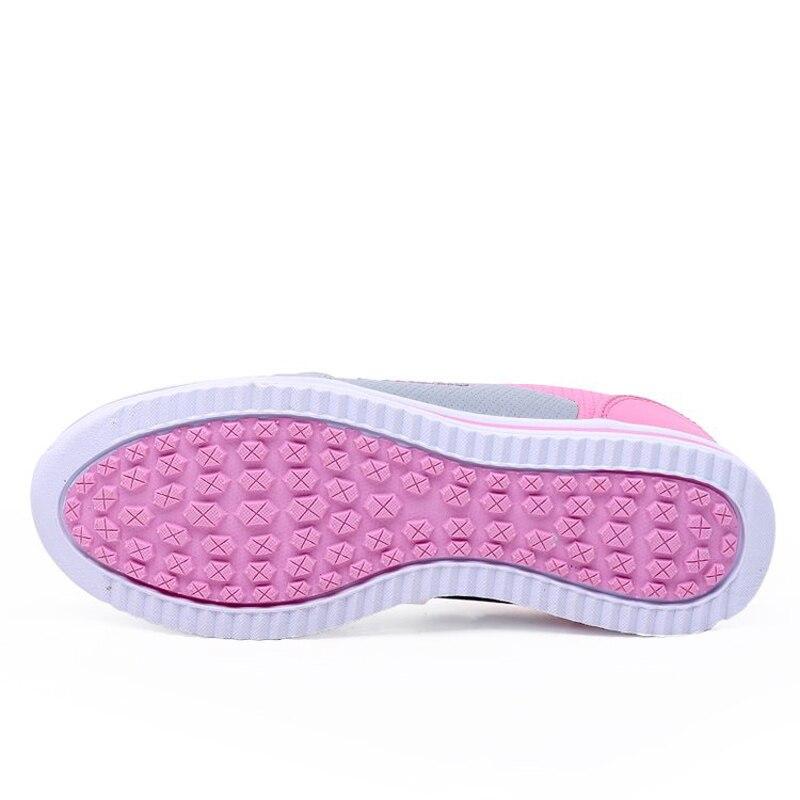 УНН Кроссовки 2018 новые удобные Спортивная обувь Для женщин розовый искусственная кожа супер спортивная обувь женская летняя женская обувь ...