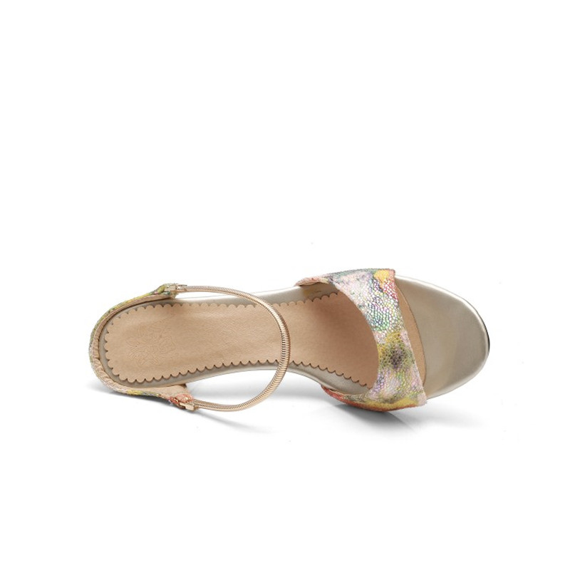 Women Slippers Thin High Heels Female Party Shoes Ladies Printing Rome  style Slides Wedding Bridal Flip Flops pantoffels dames-in Slippers from  Shoes on ... 4e9999c3e3d3