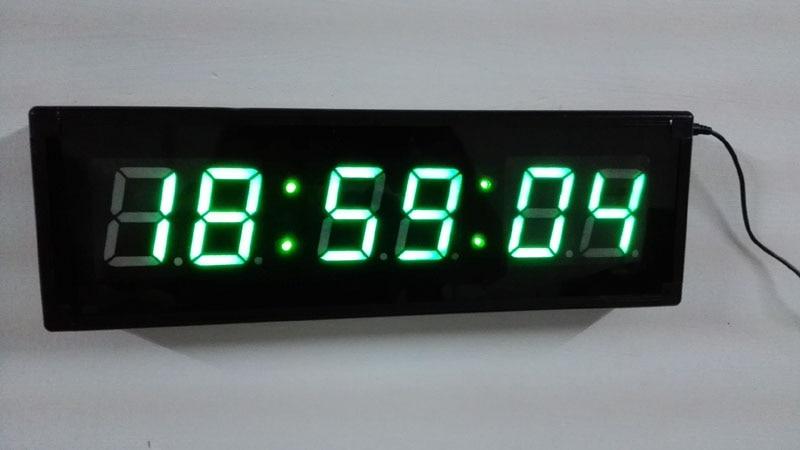 LED digital timer game clock fitness reminders examination clock meeting meter rooms timer