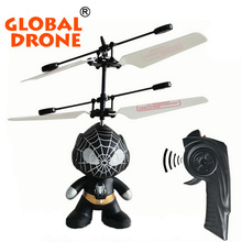 rc drone for kids with radio control spaceman remote control 2ch helicopter, flying saucer toy hand controlled