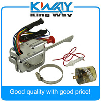 Chrome 12V Universal Street Hot Rod Turn Signal Switch Fit For FORD GM With Flasher